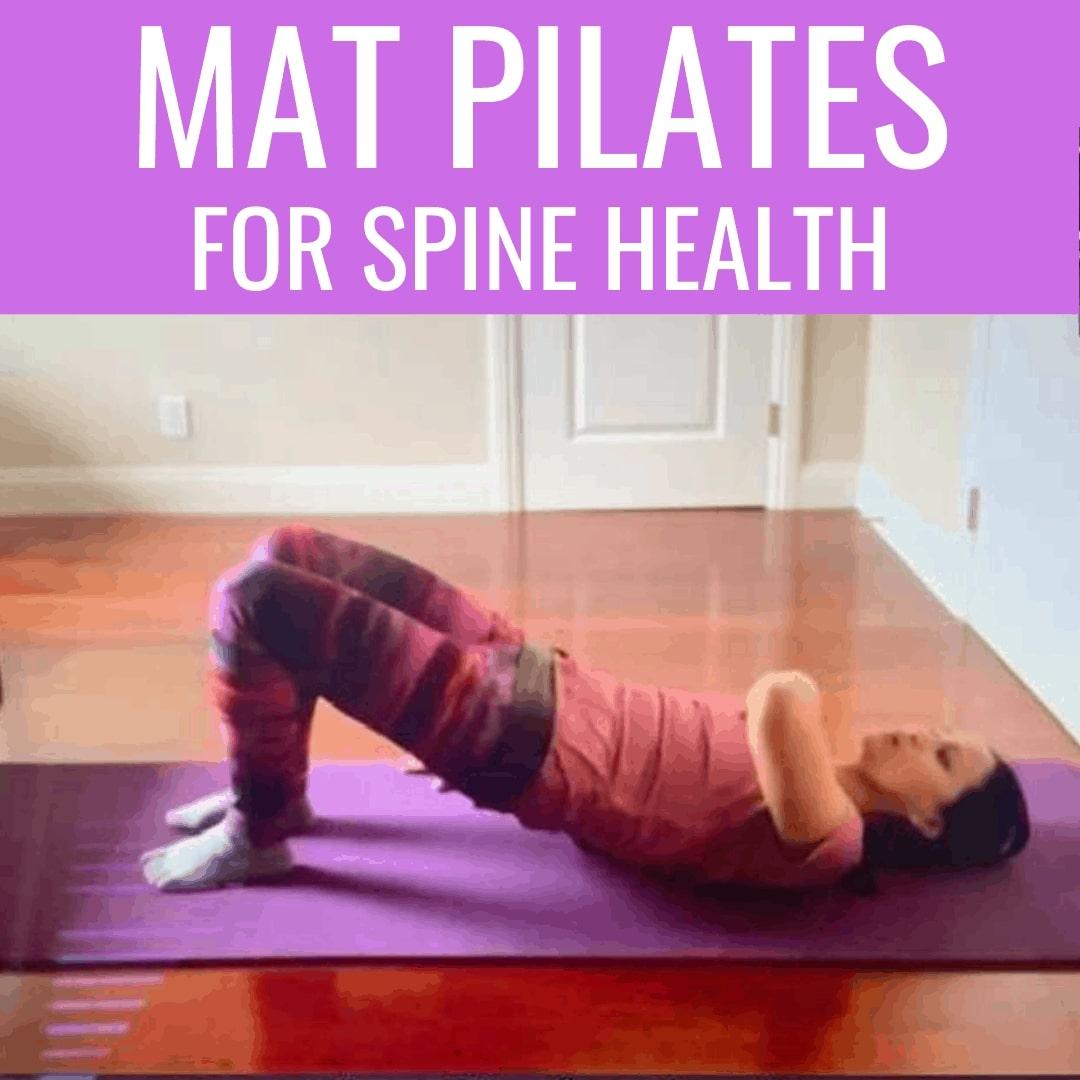 mat pilates spine health
